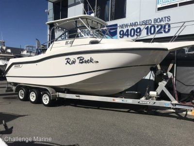 Boston Whaler 255 Conquest 4500kg Aluminium Trailer