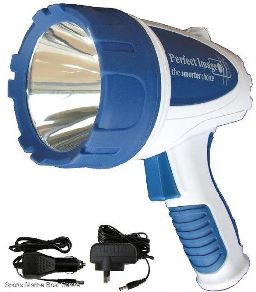 LED 550 Lumen Waterproof Rechargeable Hand Held Spotlight