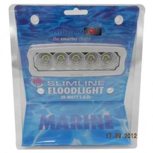 NEW MARINE LED FLOODLIGHTS - 25W - 2250 LUMENS = $ 75.00