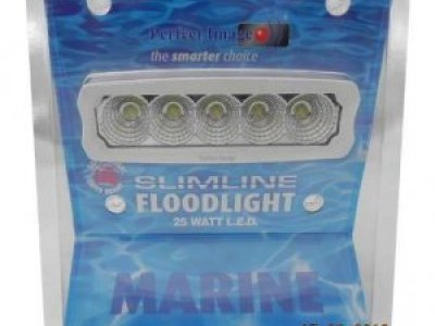 NEW MARINE LED FLOODLIGHTS - 25W - 2250 LUMENS = $ 75.00