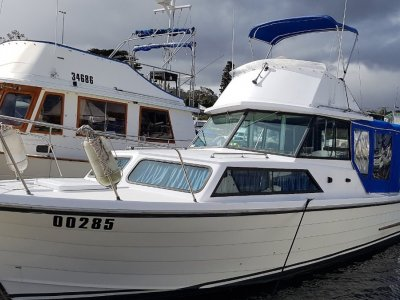 Mariner 26 Pacer Flybridge Cruiser An excellent example of these 4 berth cruisers.