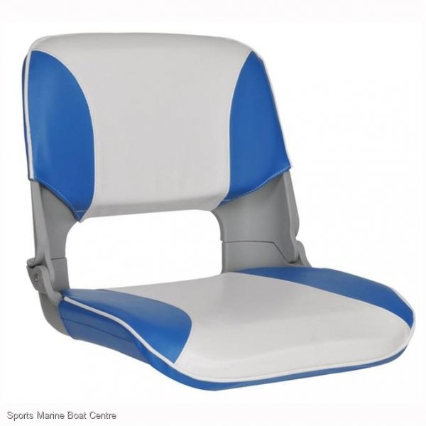 Folding Stylish Ergonomic High Back Skipper Boat Seat