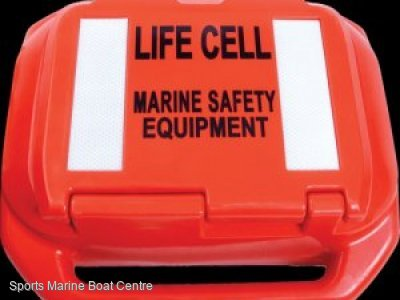 Life Cell Trailer Boat - 2 to 4 person safety cell