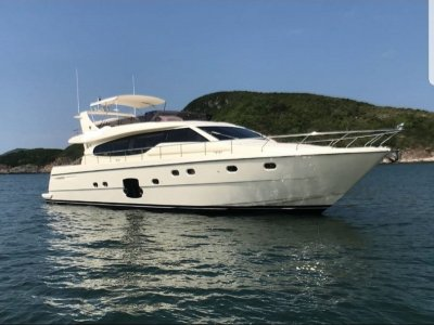 Ferretti 630 Flybridge, very well maintained