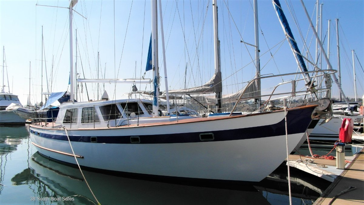 Carbineer 46 Pilothouse Ketch