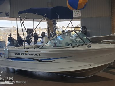 Quintrex 450 Fishabout, Yamaha F60 4-Stroke **Fresh Arrival!