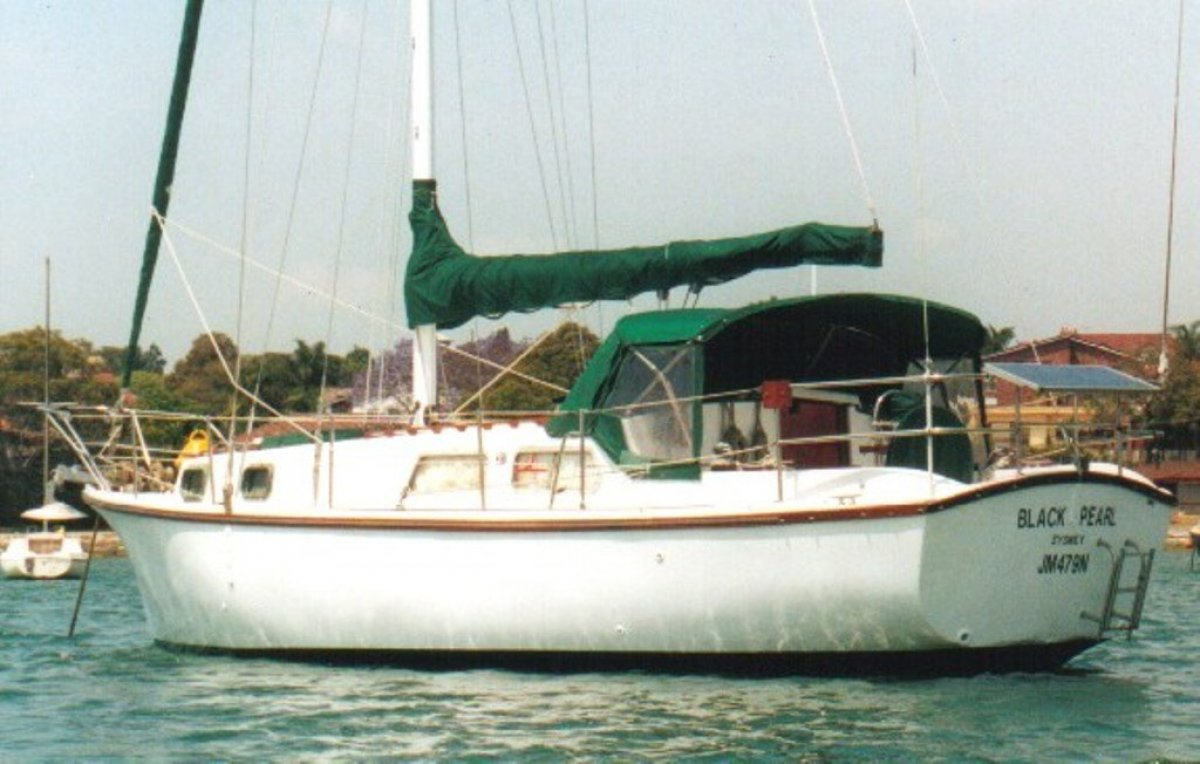 33fft Cruising Yacht:Mooring in Five Dock Bay South