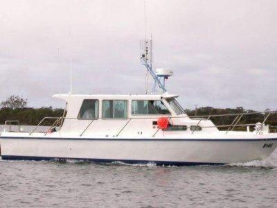 Comfortable 4 berth steel cruiser