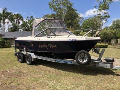 Monark 6.4m Half cabin fishing/family boat