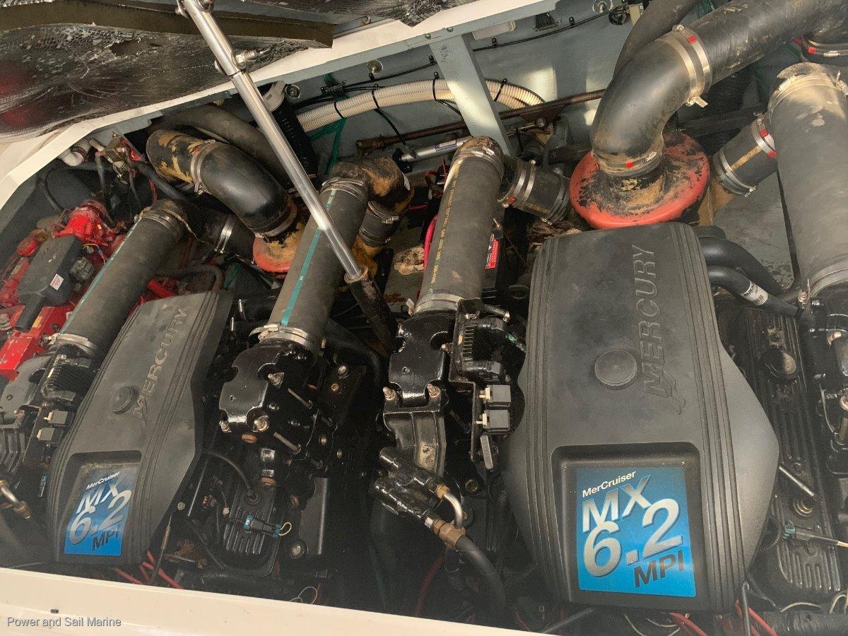 Sea Ray 365 Sundancer With NEW ENGINES