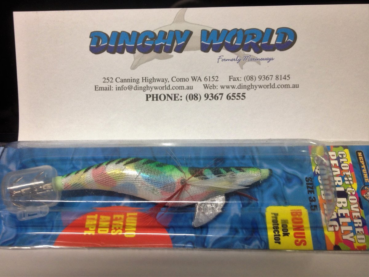SQUID JIGS ASSORTED - ONLY $ 2.50 EACH - STOCK UP NOW.
