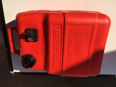 QUALITY QUICKSILVER 25 LITRE FUEL TANKS ONLY $ 69.00