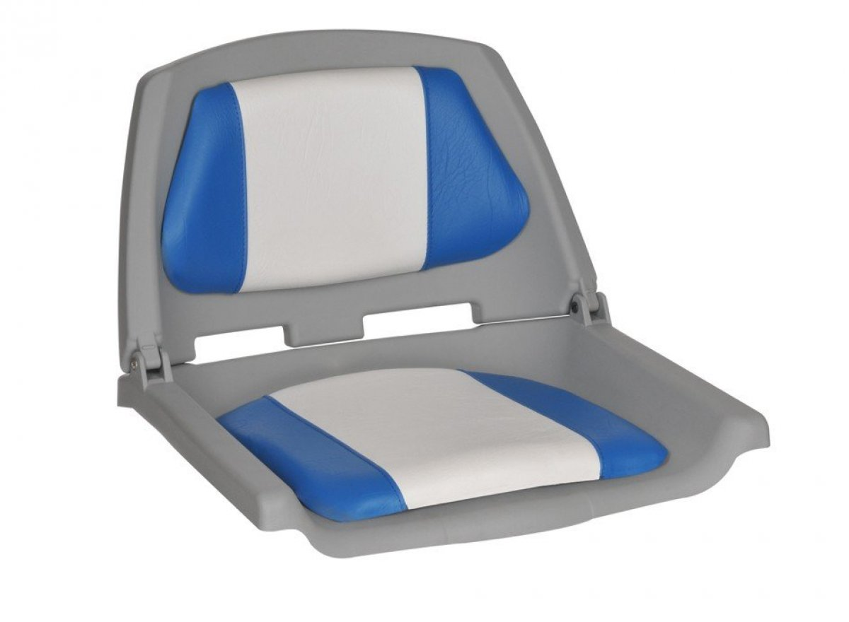 FISHERMAN FOLDING CUSHIONED SEATS - ONLY $ 49.00 EACH.