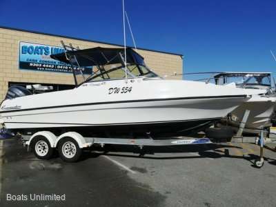 Commodore All Rounder 670 BEST DECK SPACE ON A TRAILER BOAT!! YAMMY 4 STROKE