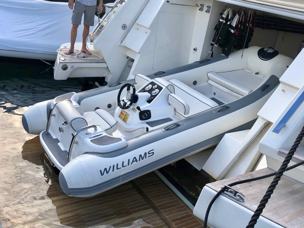 Williams 385 Turbo Jet Tender Custom
