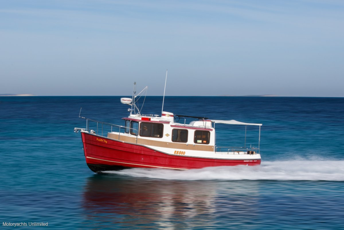 Ranger Tugs R27 Go anywhere, do anything kind of boat