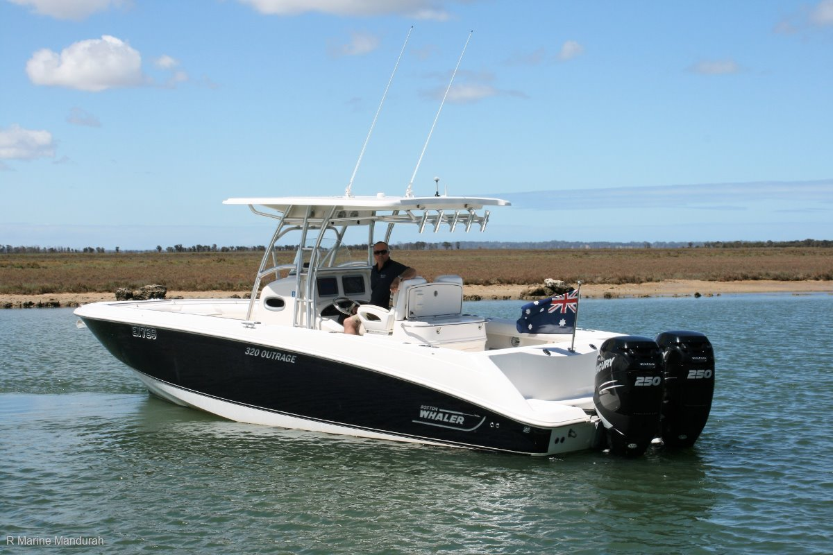 Boston Whaler 320 Outrage *** SIMPLY OUTRAGEOUS *** $154,990 ***