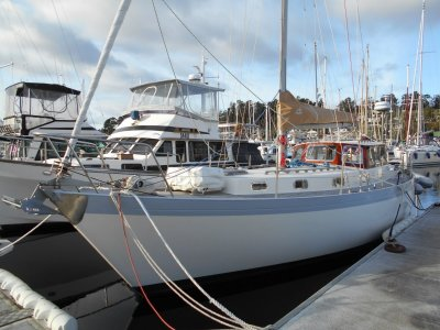 Wilson Bros PILOTHOUSE MOTOR SAILER HUON PINE, EXCELLENT PRESENTATION