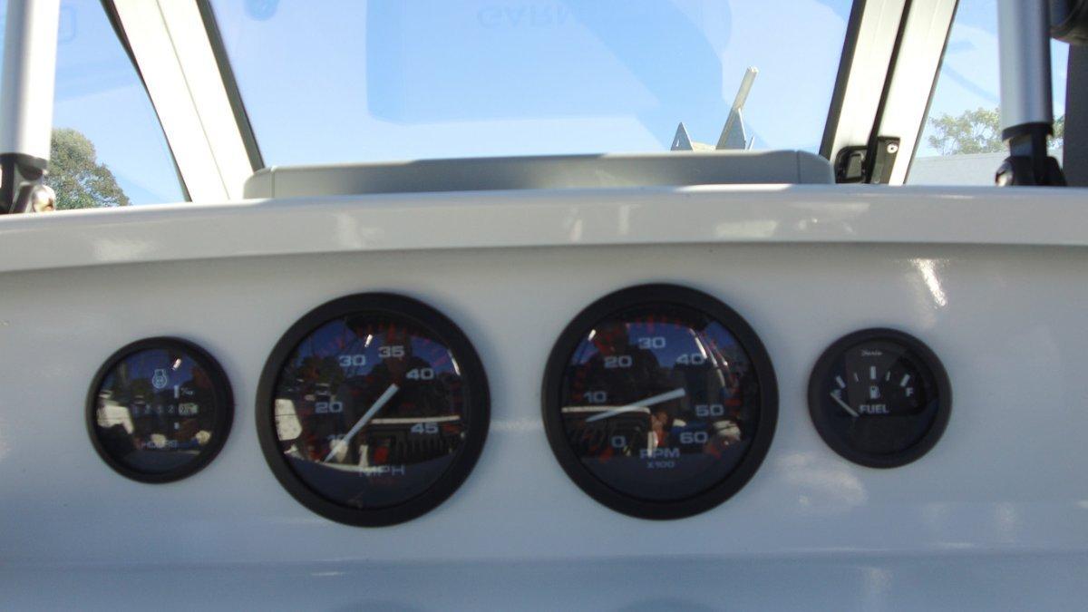 Savage 455 Bay Cruiser + Mercury F60 ELPT