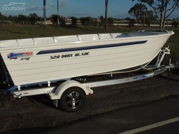 New Quintrex 520 Dory