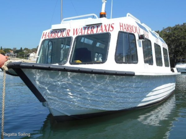 Water Taxi company & vessel for sale