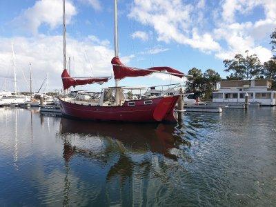 Freedom Yachts 40 CB Cat Ketch Bonaventure