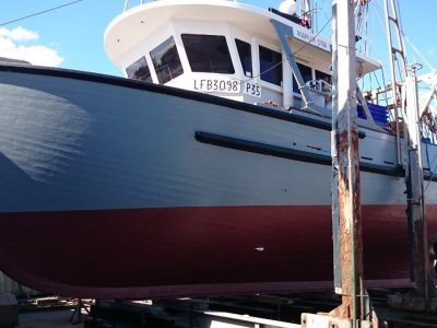 Carvel Timber Trawler