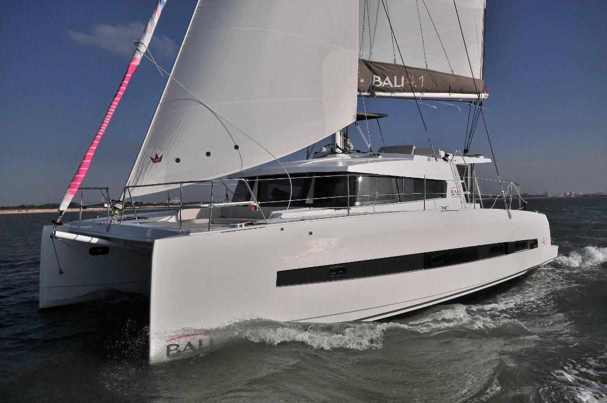 Bali Catamarans 4.1 - 2019 new vessels available and in stock.