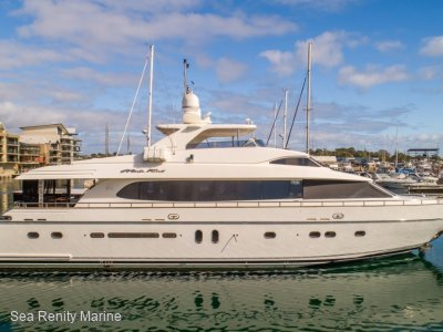 Monte Fino 92 Sunbridge Motor Yacht Inspection a Must.