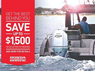 New Honda Marine Specials - Save up to $, 1500.00.