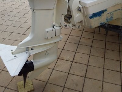Johnson outboard 60 hp 1997 oil injected exclent condition
