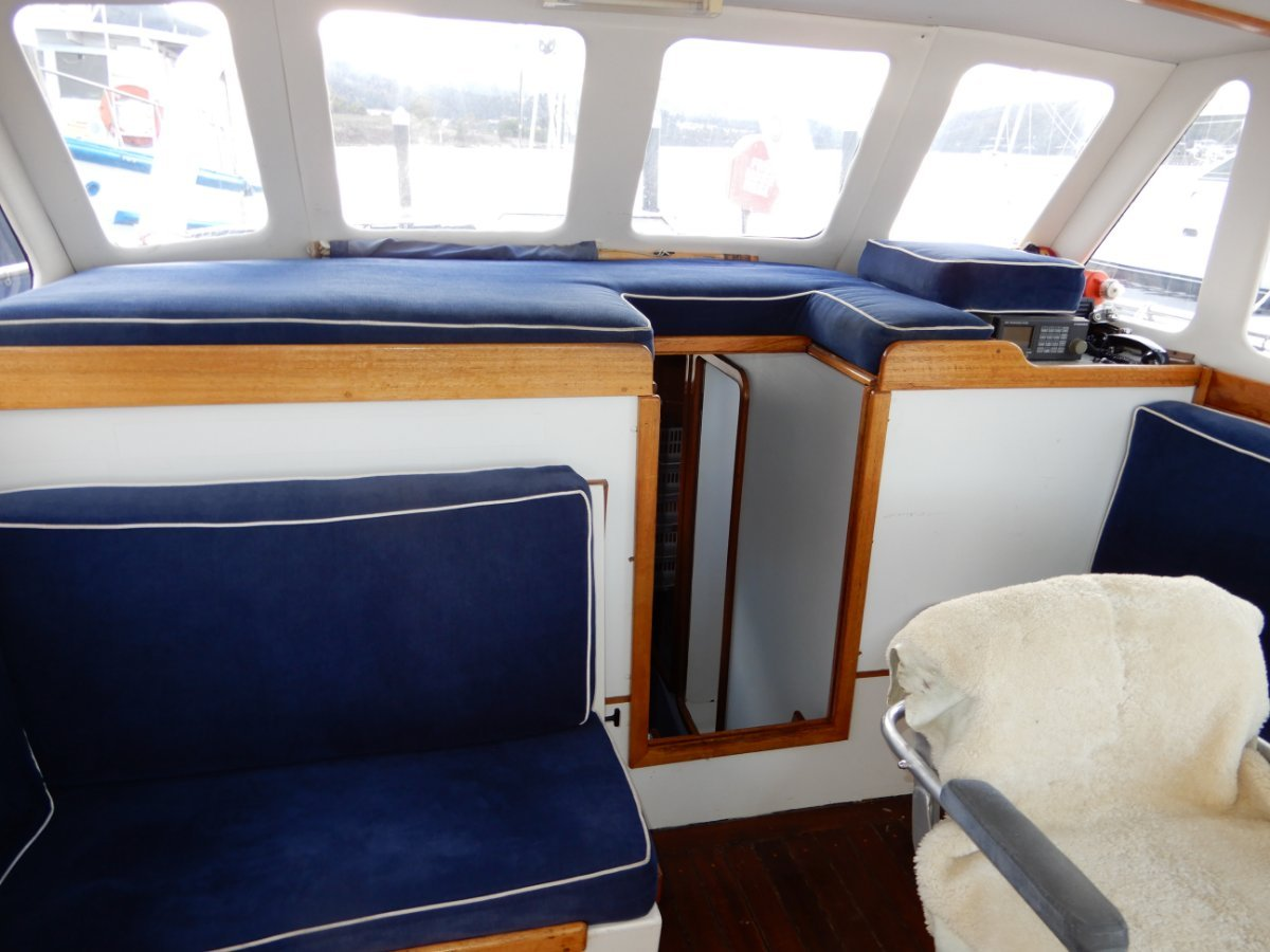 Stuart 47 Serious Bluewater Pilothouse Motorsailer For