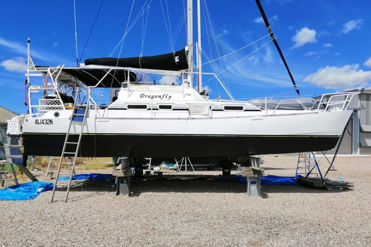 Custom 34ft Aluminium Catamaran