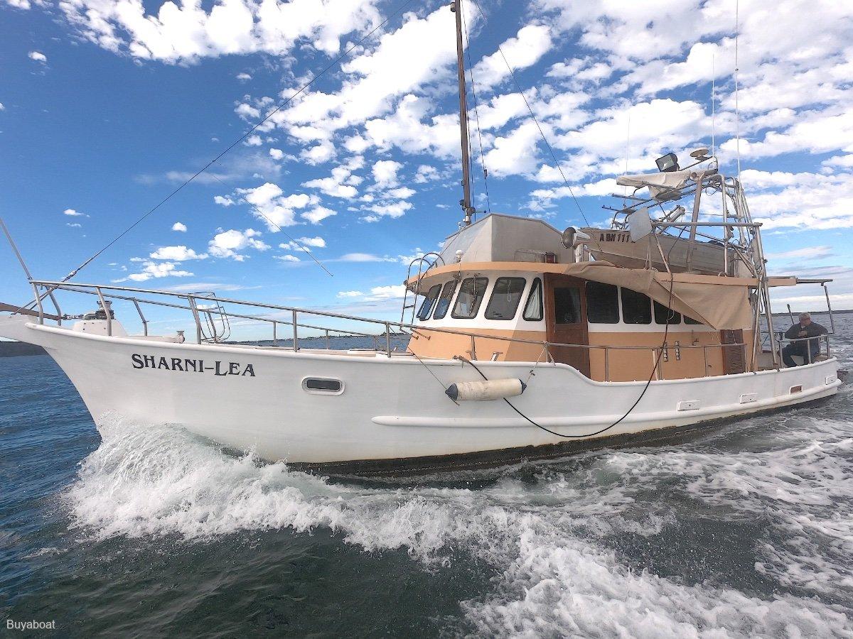 Custom 46 Steel live aboard coastal cruiser