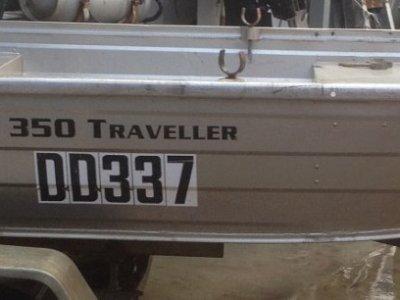 Quintrex 350 Traveller