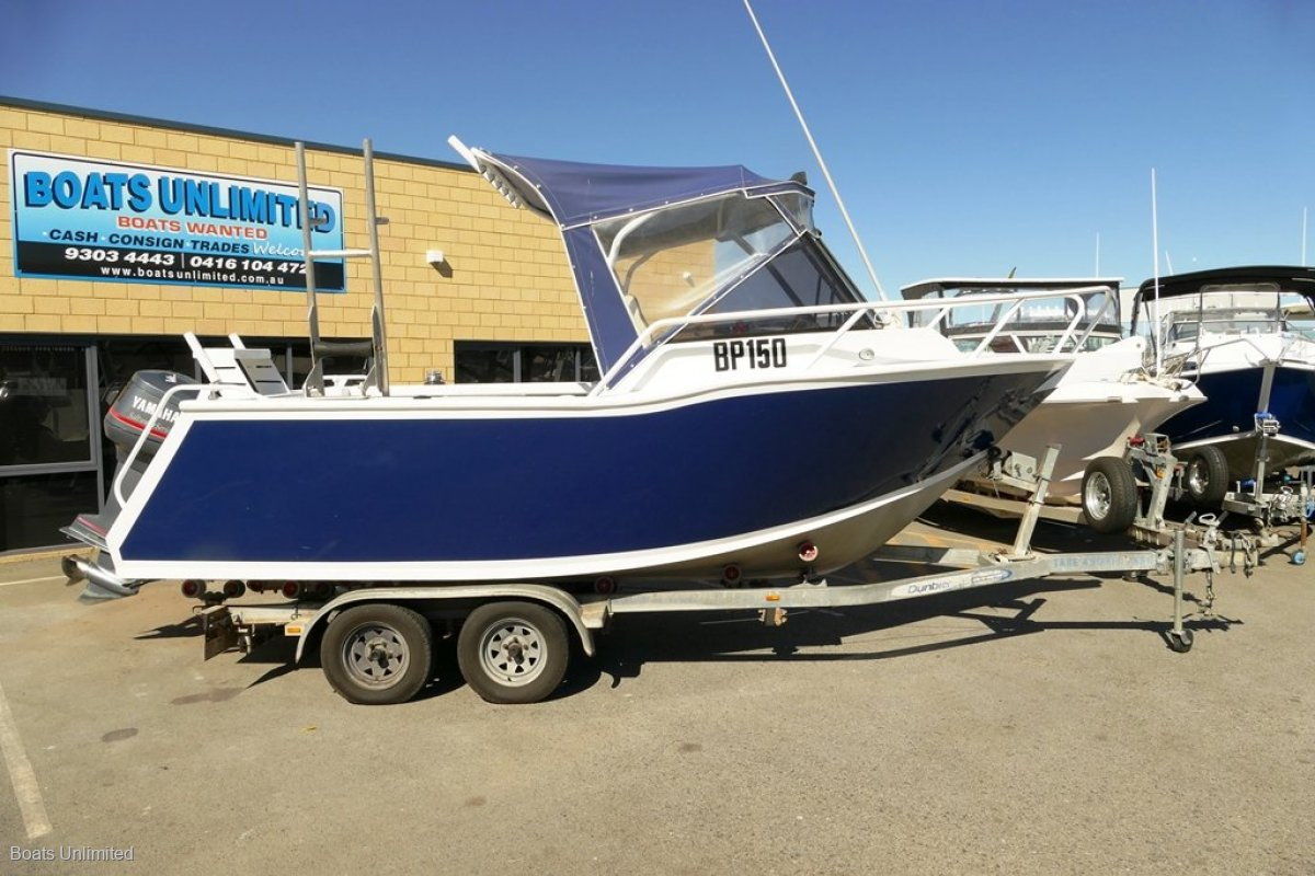 Jackman RUNABOUT 5.8 GREAT SIZE SOLID BUILD FISHING BOAT