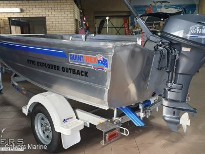 Quintrex 370 Explorer Outback - Yamaha F15 Four Stroke *Package Clearance