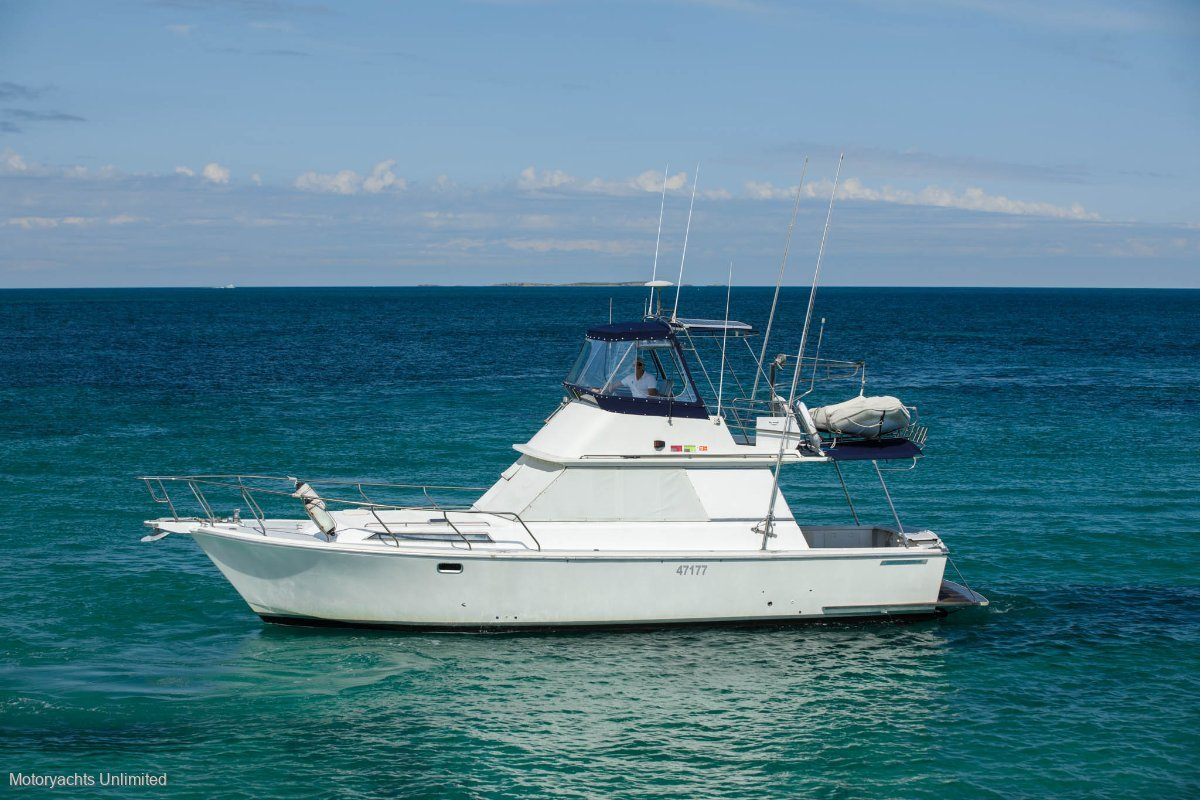 Randell 38 Flybridge Cruiser Reliable and cheap family boating