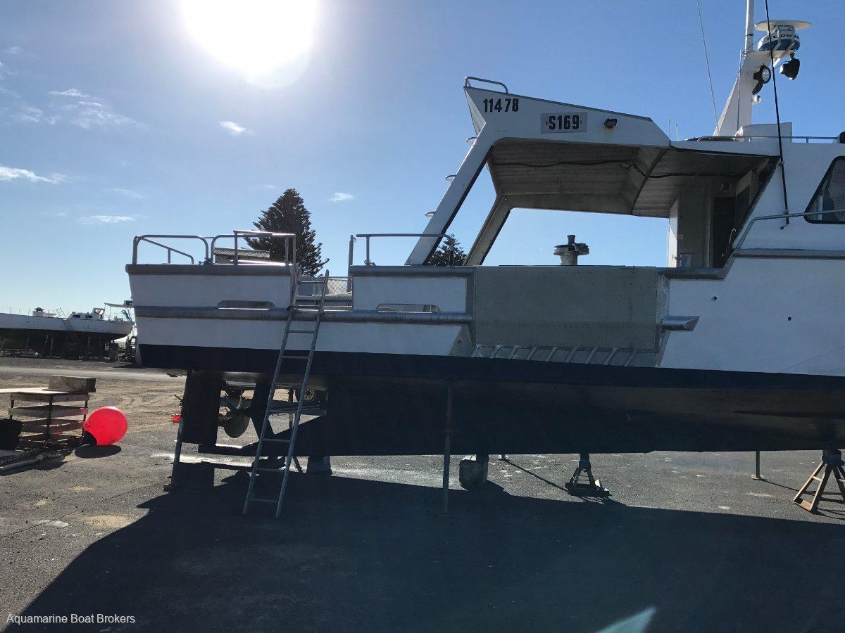 12.4m Aluminium Crayboat - D12 Volvo 650Hp