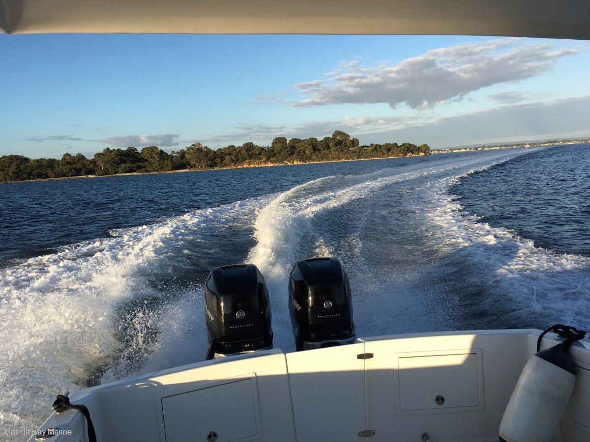 Matilda Bay 32 OB - TWIN OUTBOARDS DEMONSTRATOR FOR SALE