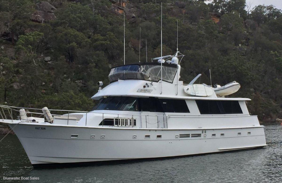 Hatteras Motor Yacht 70