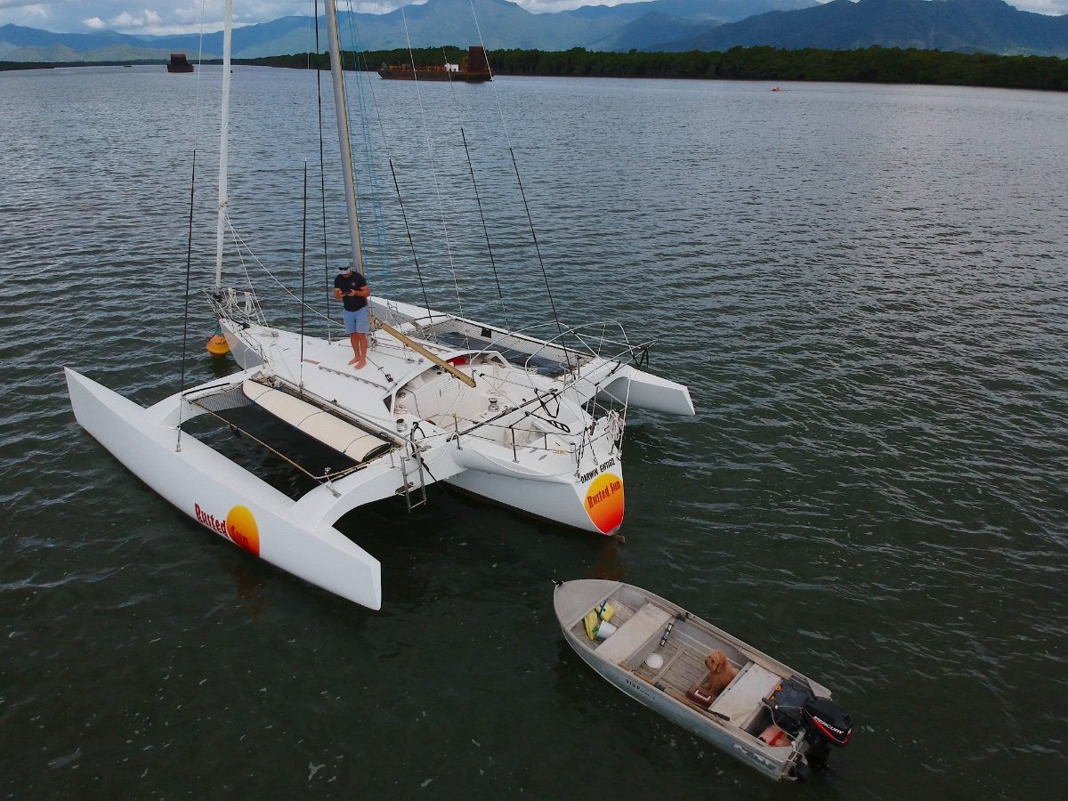 stability re-calcalculation for pimped Trimarans - Cruisers