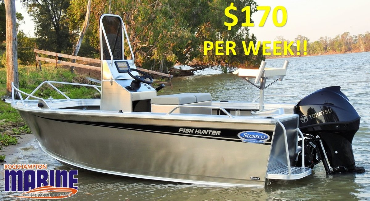 Stessco Fish Hunter 459 B, M, T PACKAGE FROM ROCKHAMPTON MARINE!!!!