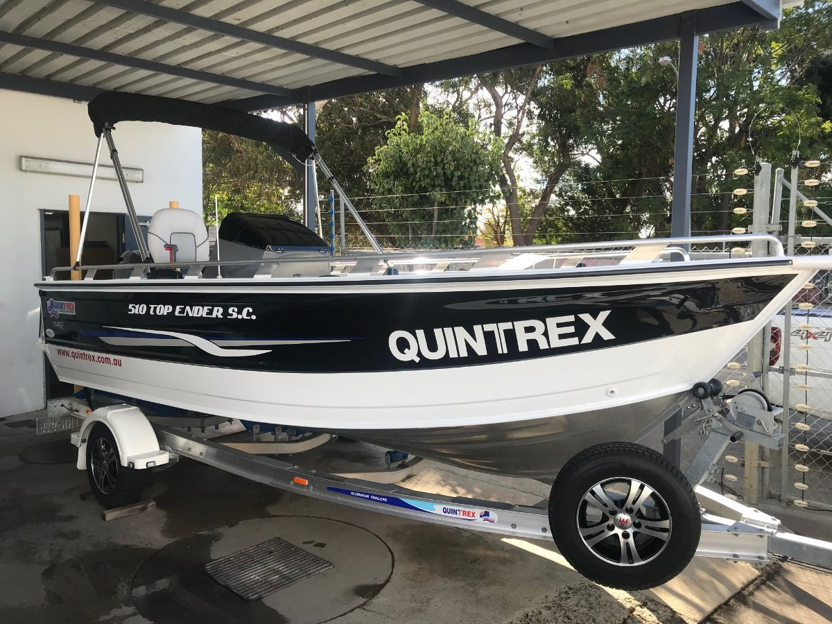 New Quintrex 510 Top Ender