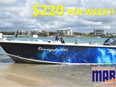 Stessco Renegade 480 B, M, T PACKAGE FROM ROCKHAMPTON MARINE!!!!