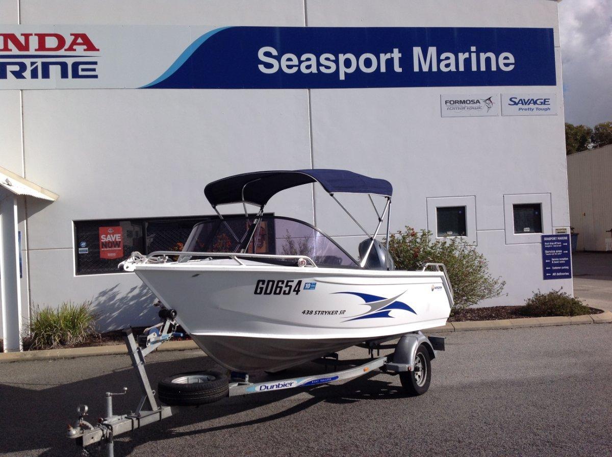 Horizon Aluminium Boats 438 Stryker Runabout