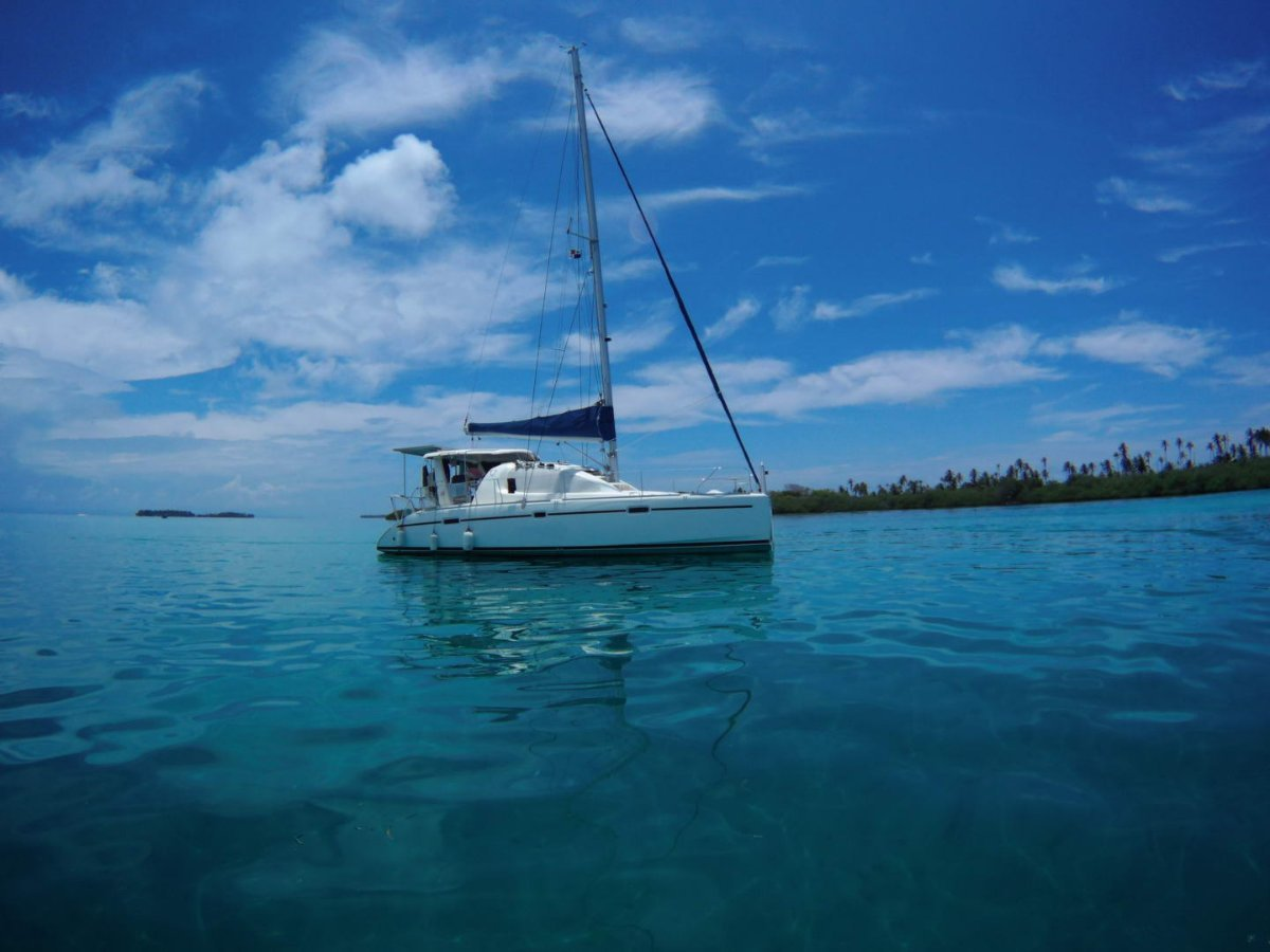 Robertson and Caine Leopard 40 cruising the Caribbean or Ocean crossings