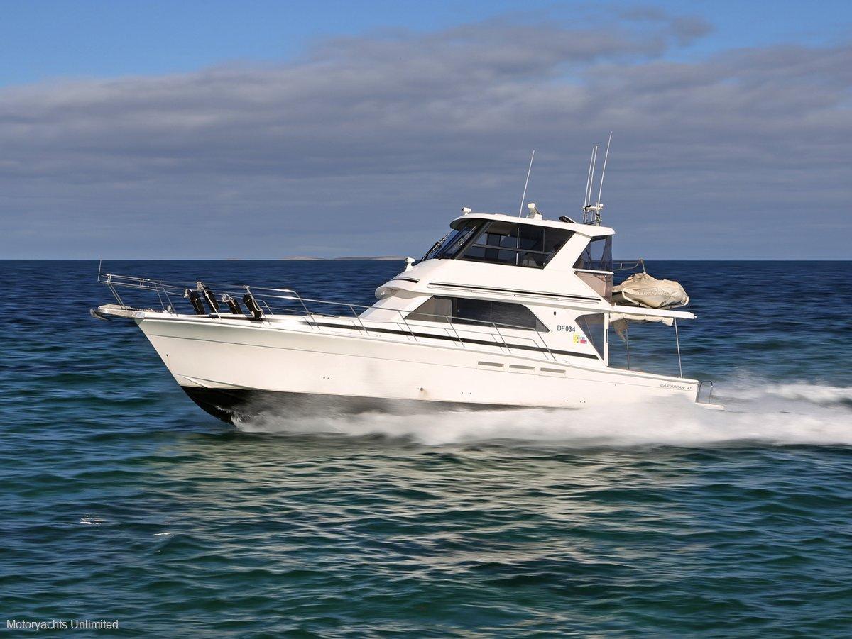 Caribbean 47 Flybridge Cruiser - Highly optioned and ready for coastal cruising