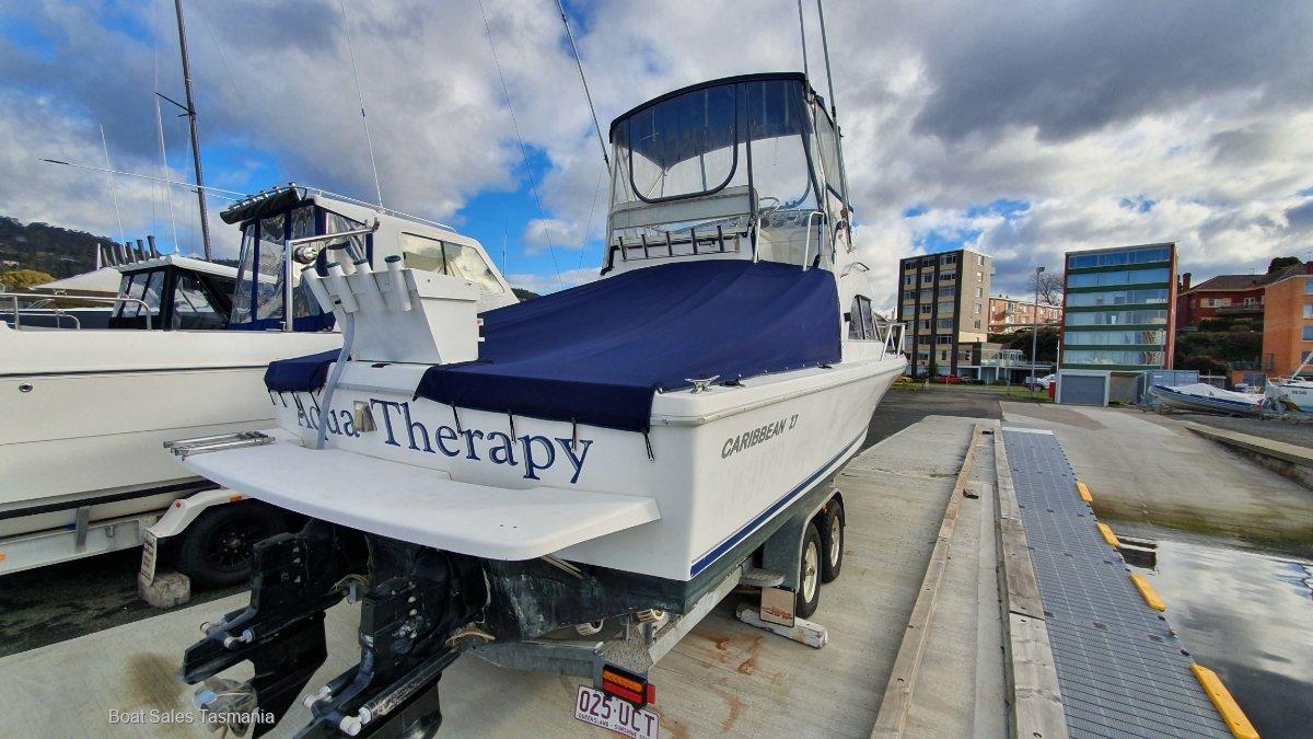 Caribbean 27 Flybridge Sports Fisherman Aqua Therapy