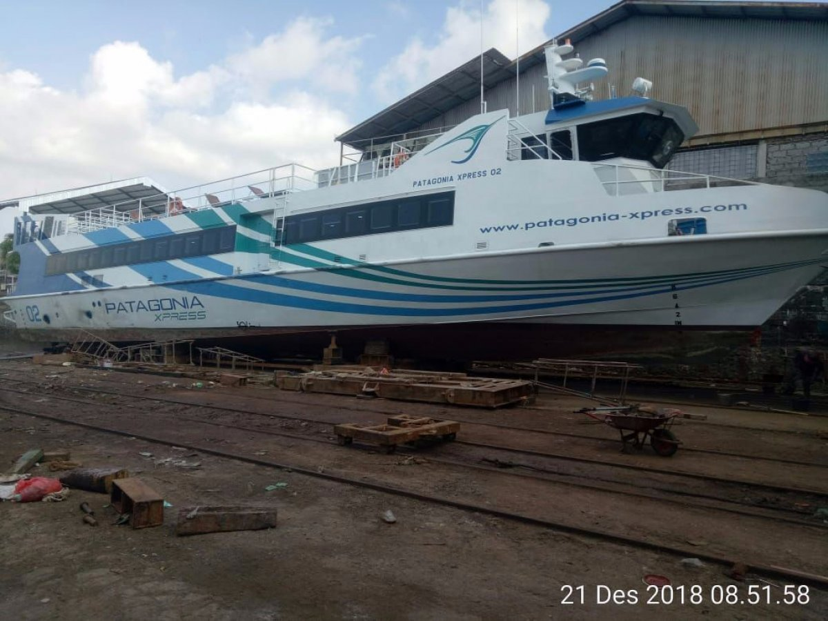 33.75m Fast Aluminium Ferry For Sale